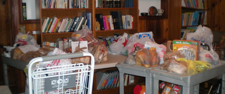 PCR's Food Pantry